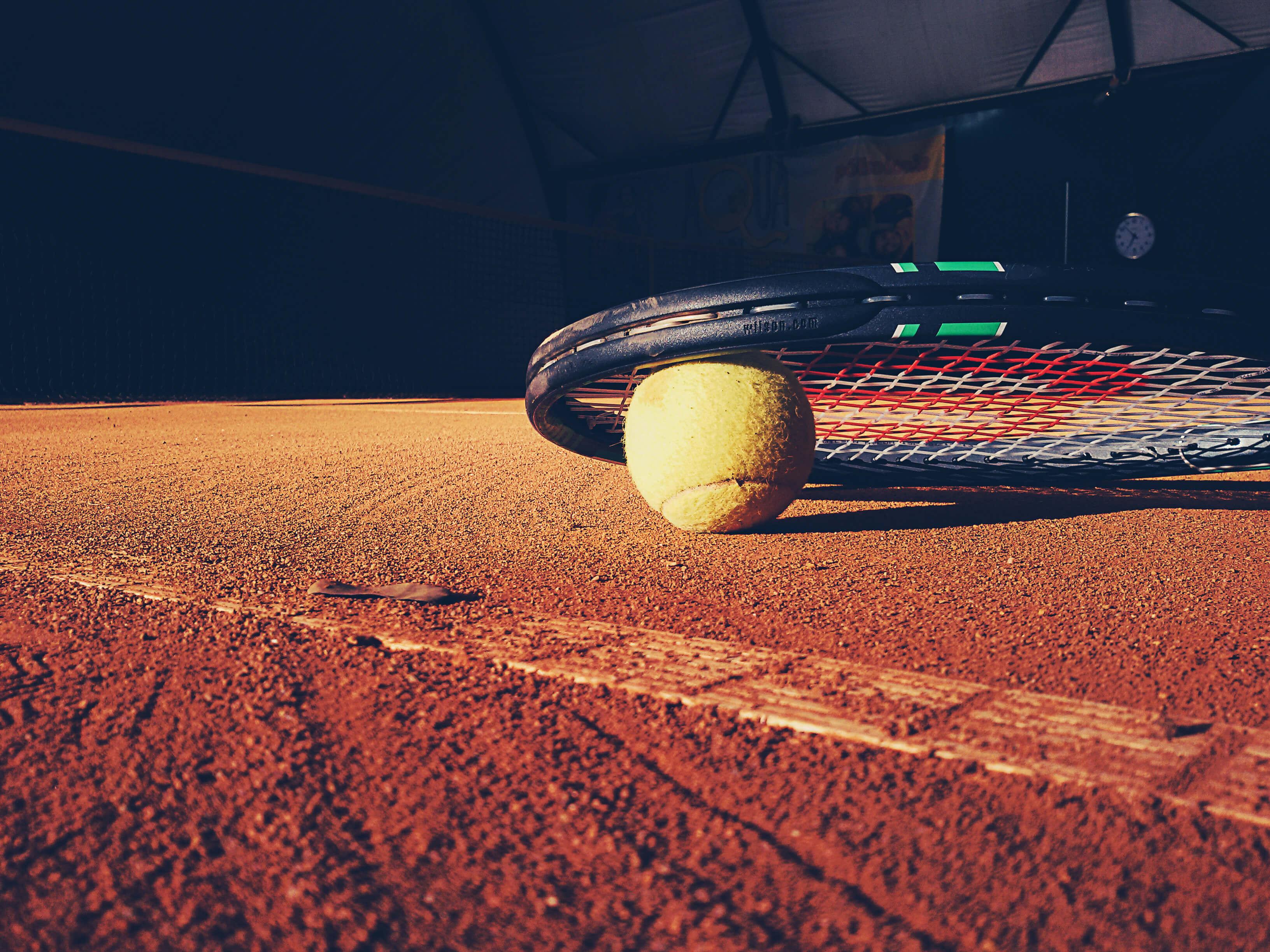 jogue tênis